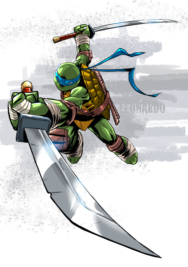 Tmnt Leo by deemonproductions