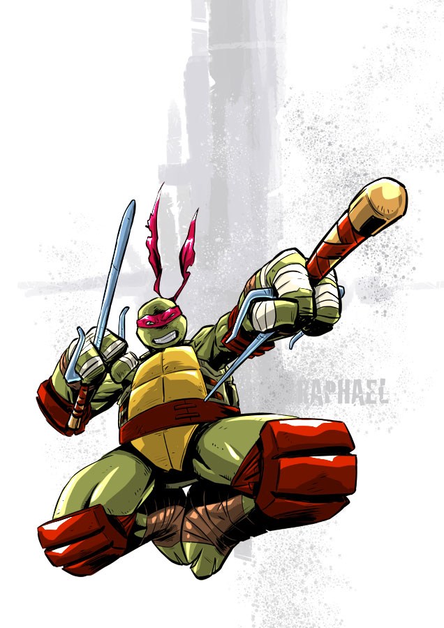 Tmnt Raphael by deemonproductions