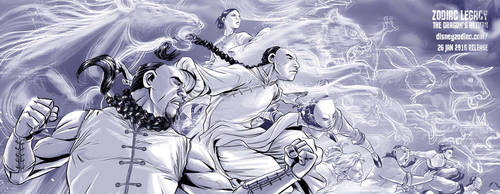 ZODIAC LEGACY - The Dragon's Return by deemonproductions