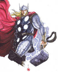 THOR THUNDEROUS by deemonproductions