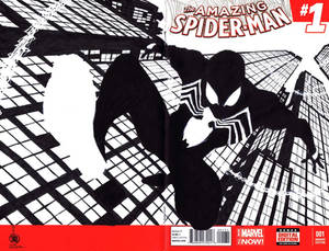 JOHN BYRNE INSPIRED SYMBIOTE SPIDERMAN
