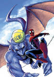 spidey 143 cover coloured