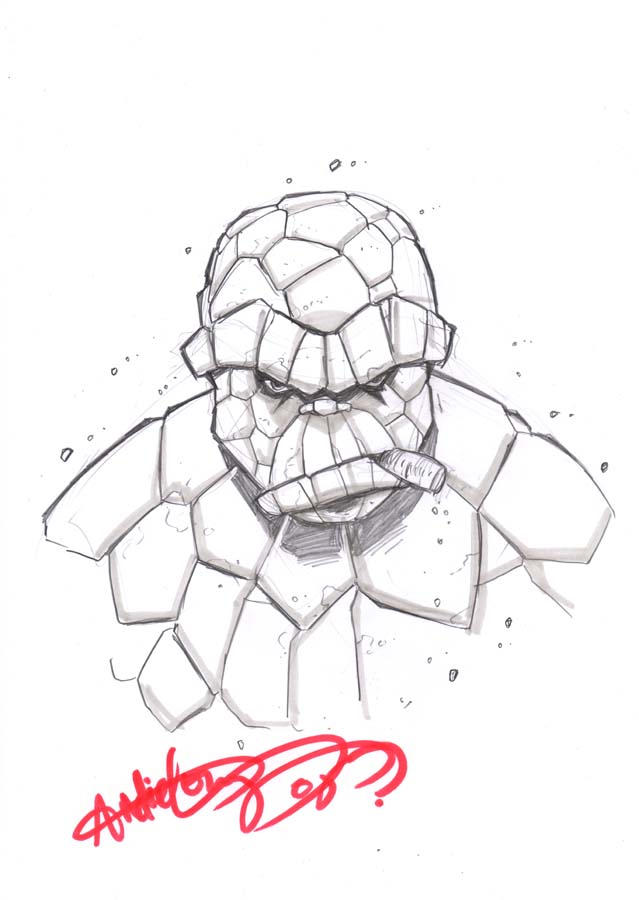 thing sketch by deemonproductions