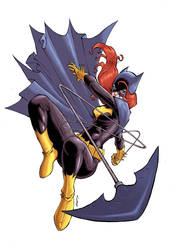 batgirl by deemonproductions