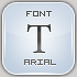 font arial by N0RTHWOOD