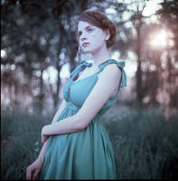 bleu clair et sepia by kuzminphoto