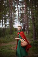 Red Riding Hood III by kuzminphoto