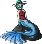 Anya the mermaid