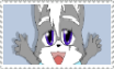 Wolf.Jr Stamp by FoxMccloud101
