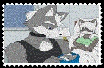 Wolf.Jr Bron Stamp by FoxMccloud101