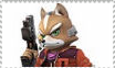 Red Fox fan stamp by FoxMccloud101