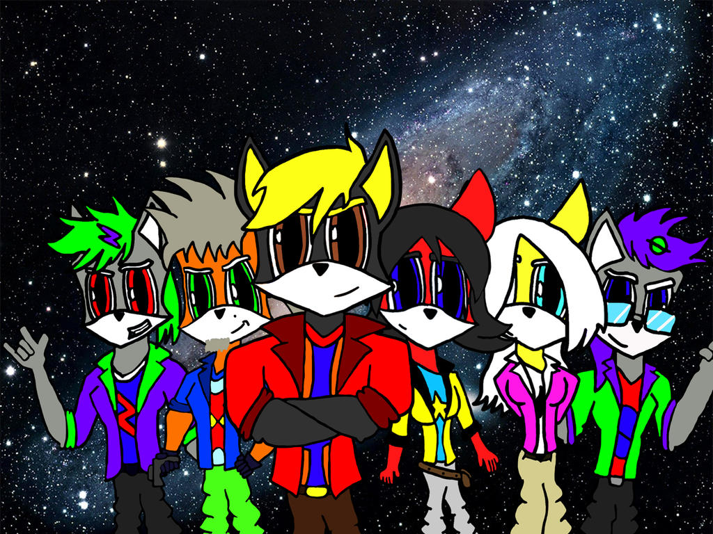 We are the StarBound Warriors by FoxMccloud101