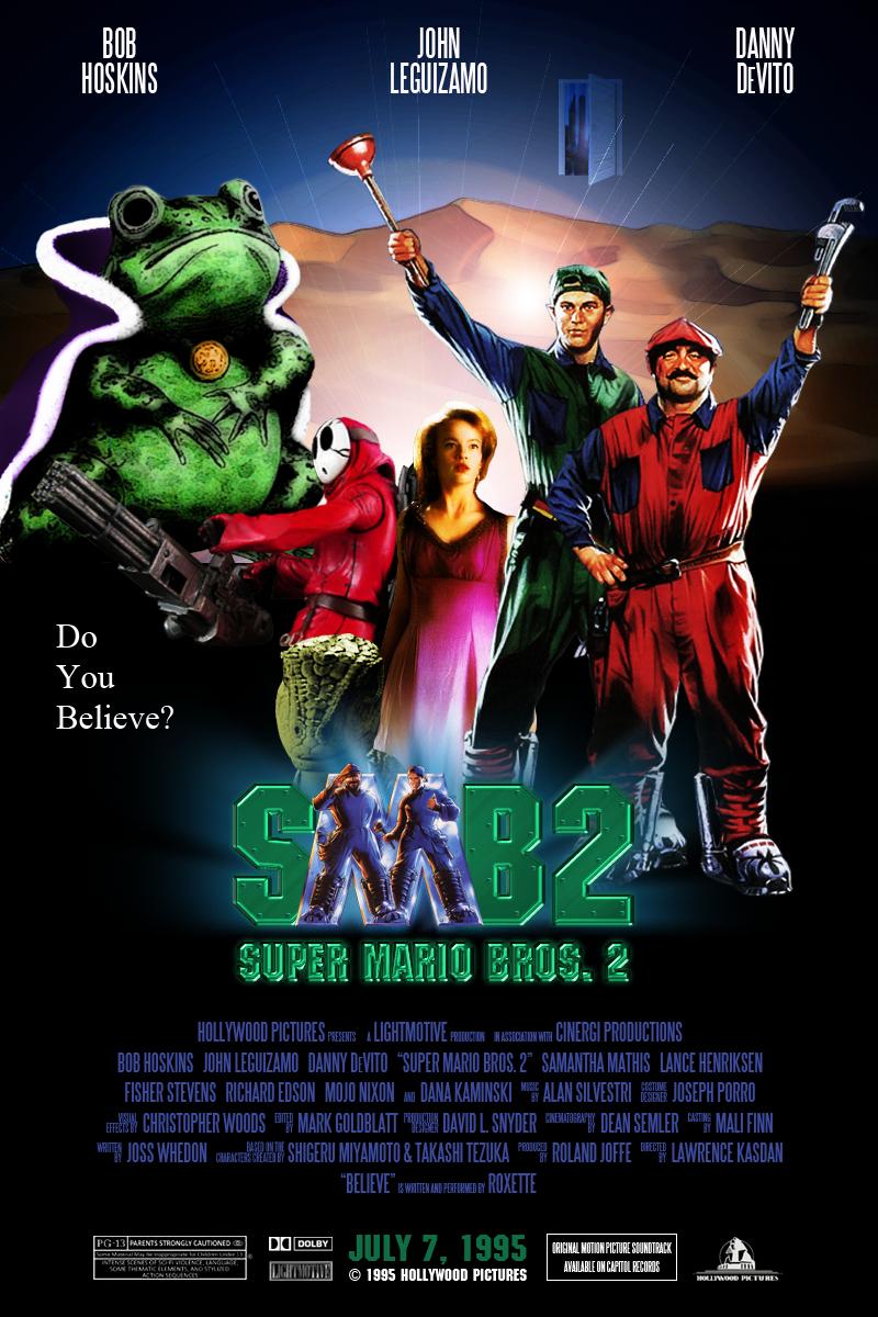 Super Mario Bros 2 1995 By Ambientzero On Deviantart