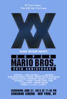 Super Mario Bros. 20th Anniversary by AmbientZero