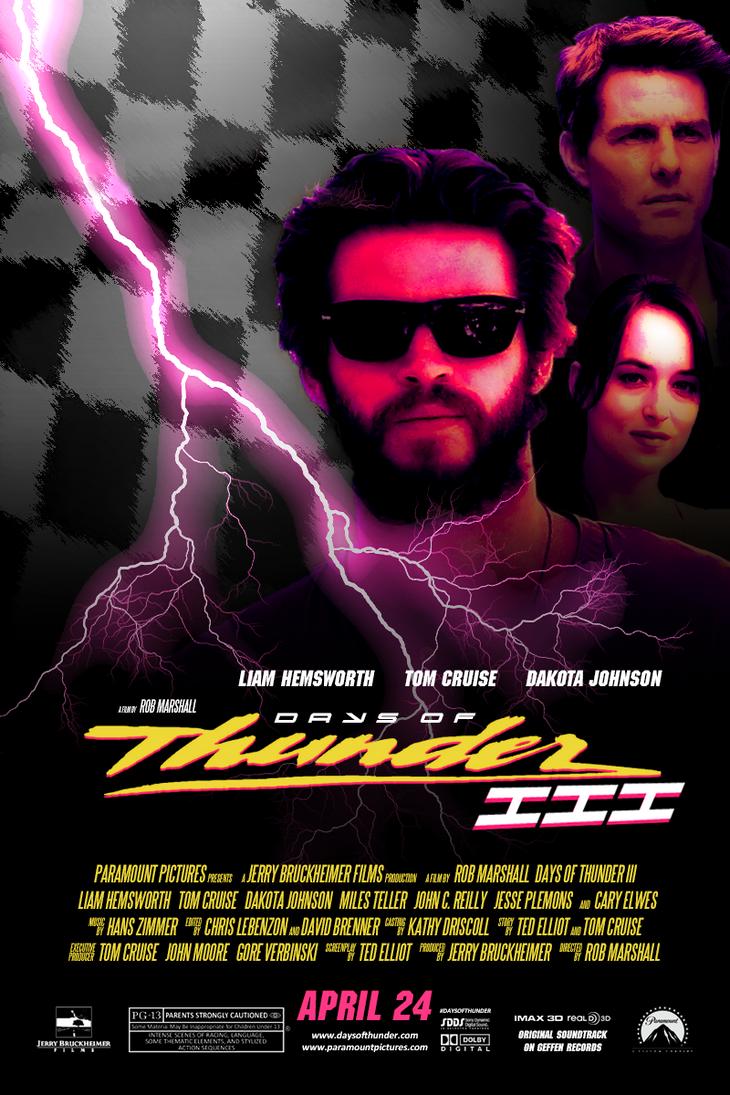 Days of Thunder III by AmbientZero on DeviantArt
