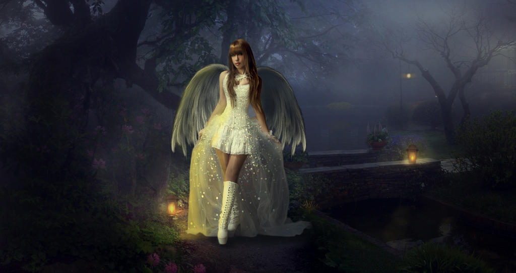 Angel in the park 2 by astonvillafc