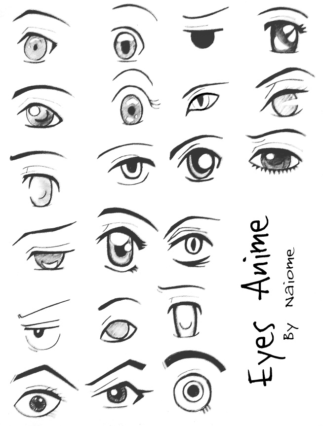 Anime Eyes By Naiome San