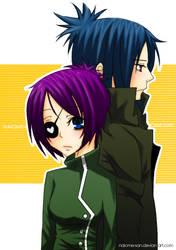 KHR: Mukuro and Chrome by Naiome-san