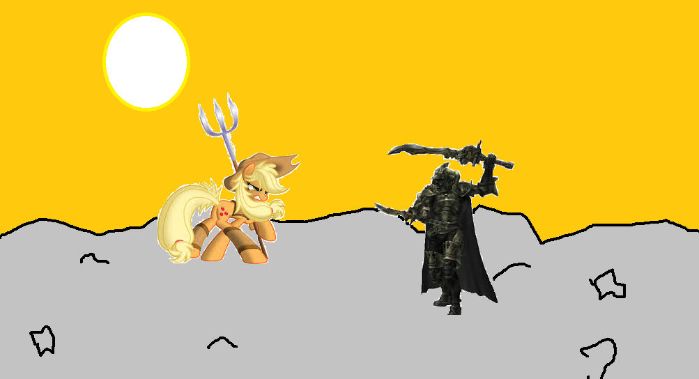 Applejack vs Gabranth