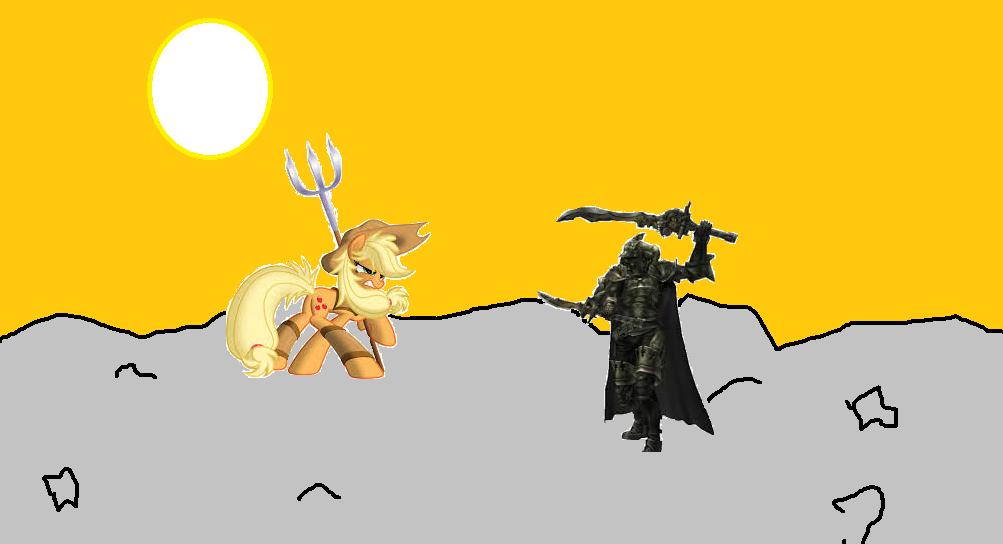 Applejack vs Gabranth