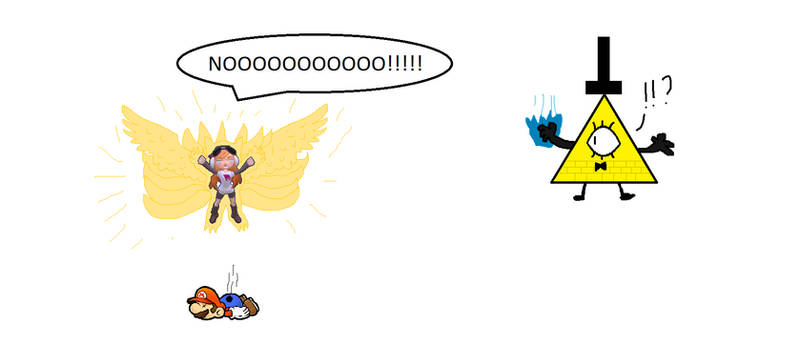 Nine Tailed Wingfox Aura Meggy Vs Bill Cipher