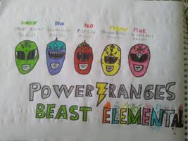Power Rangers Beast elemental
