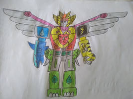 Beast Elemental Megazord
