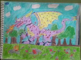 Castle Prison Break Dragon killing Knights