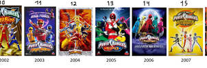 Power Rangers TV Series