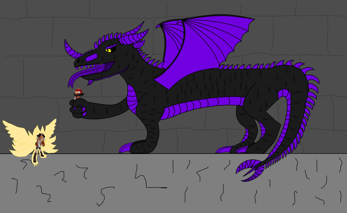Nine Tailed Wingfox Meggy vs Shadow Dragon Meggy