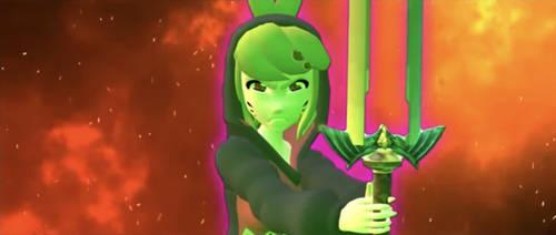 Melony's Fierce Deity Sword by matheusmattos75