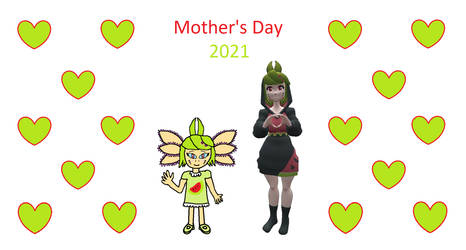 Mother's Day 2021 Melonaxol And Melony by matheusmattos75
