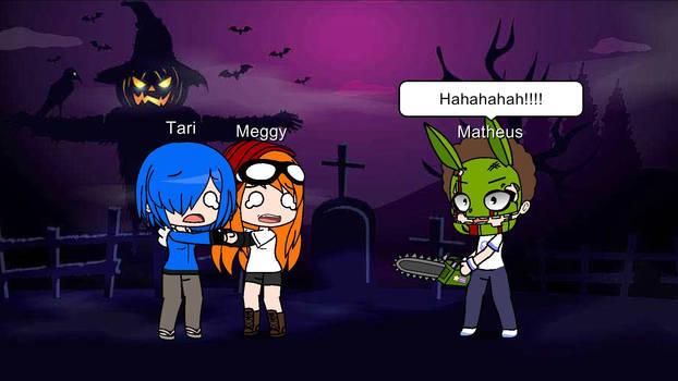 Matheus's Prank Springtrap Jumpscare Meggy Tari