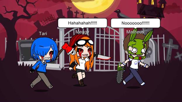 Meggy And Tari EXE's Revenge Jumpscare Matheus
