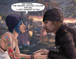 Frank Bowers / Chloe Price request by CecilMateus