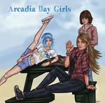 Amberpricefield Arcadia Bay Girls by CecilMateus