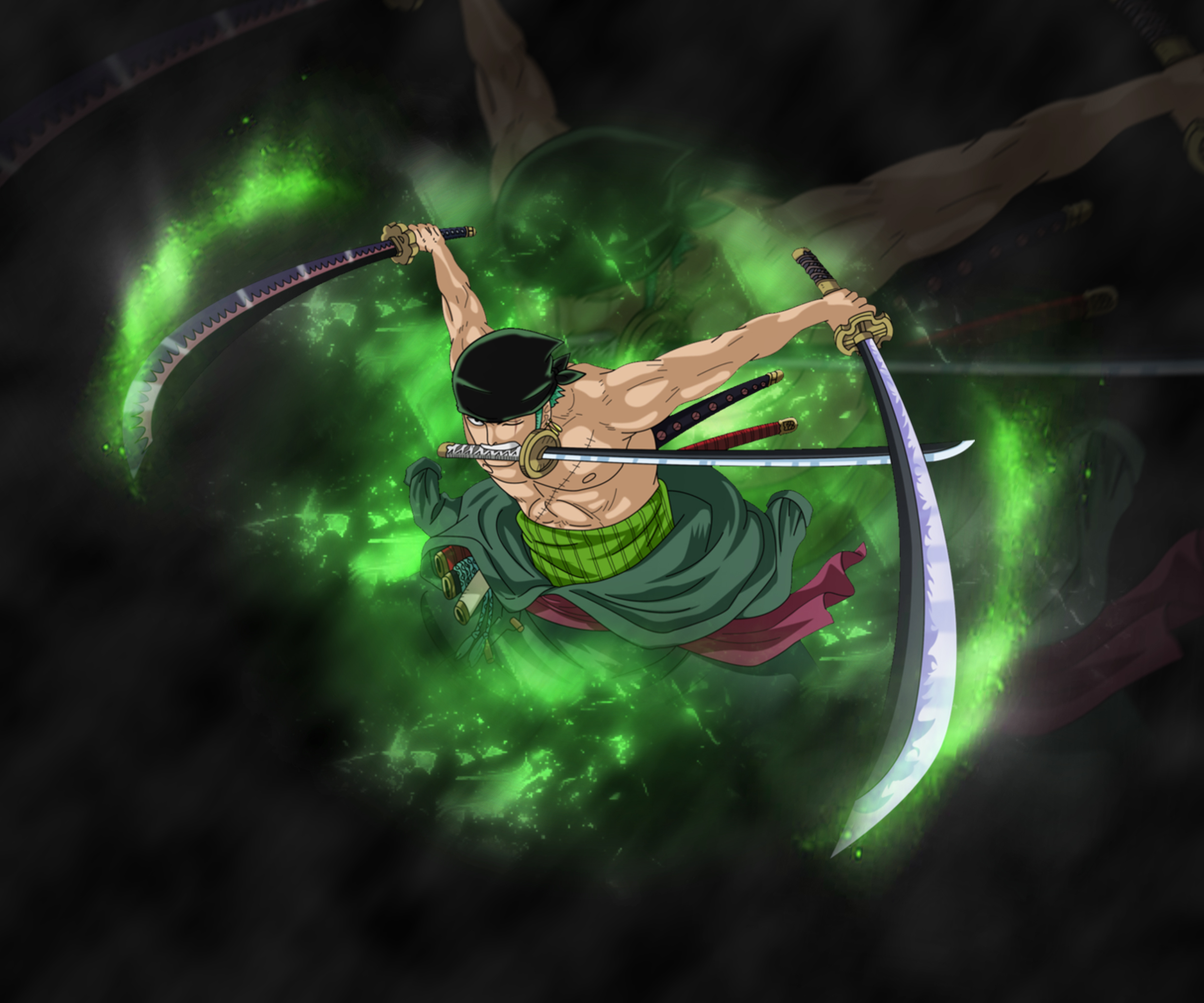Roronoa zoro one piece by enrestoxd on deviantart - One piece logo zoro ...