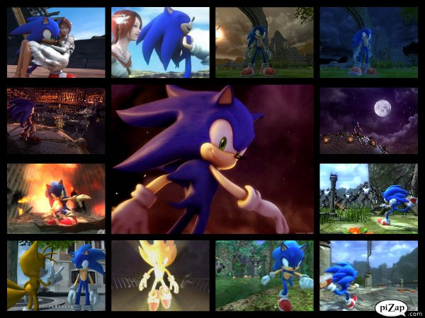 Sonic The Hedgehog 2006 Collage By Sonicxboom123 On Deviantart