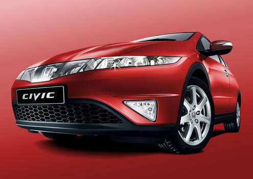 Honda Civic Vector