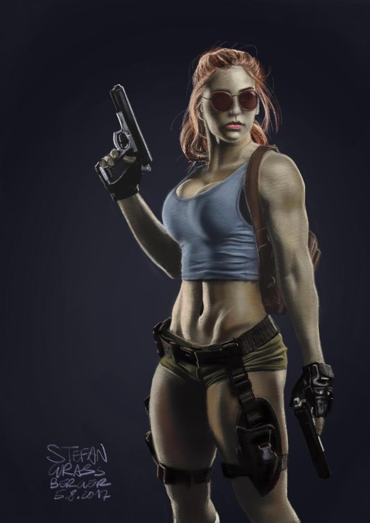 Classic Lara Croft by stevygee