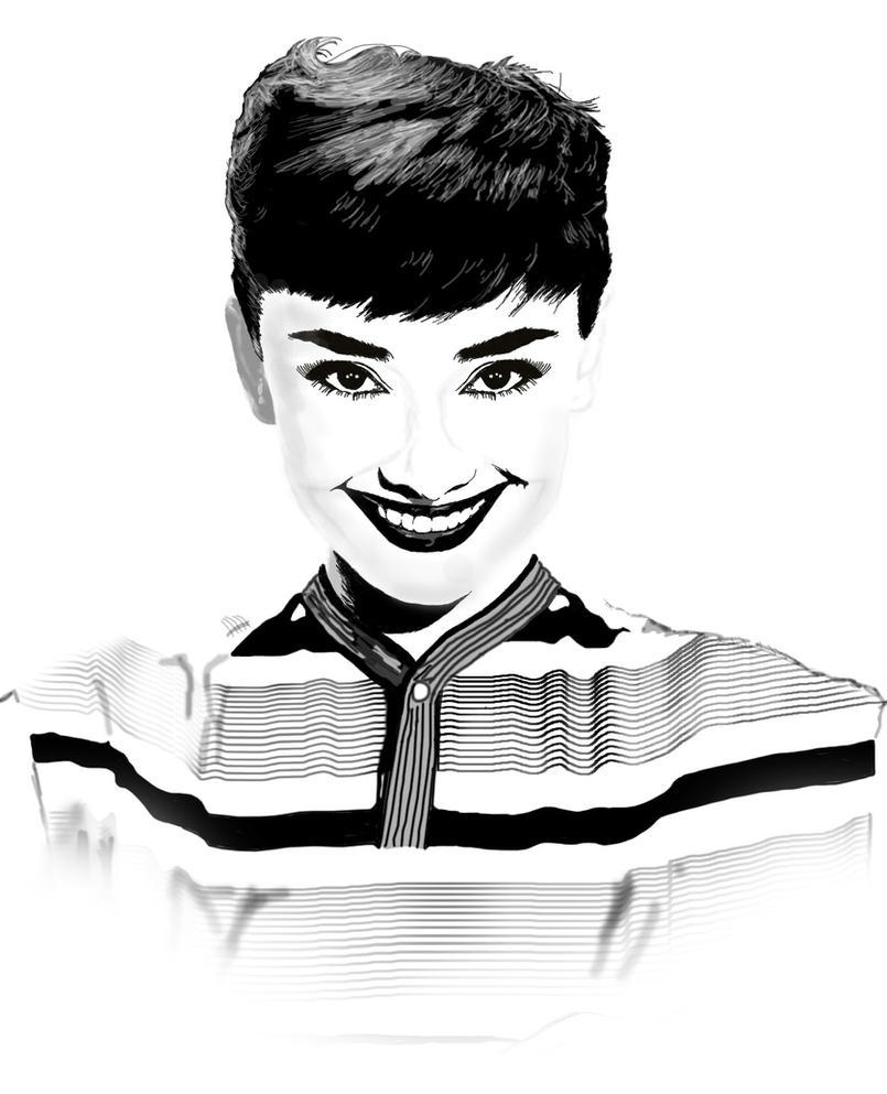 Audrey Hepburn by dccanim