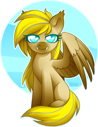 COMMISSION: A Catty Pegasus by Sickly-Sour