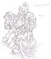 mountin dwarf by InsaneInfernO