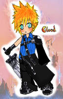 Chibi Cloud by C2ii