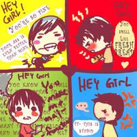 Hey girl batboys by C2ii