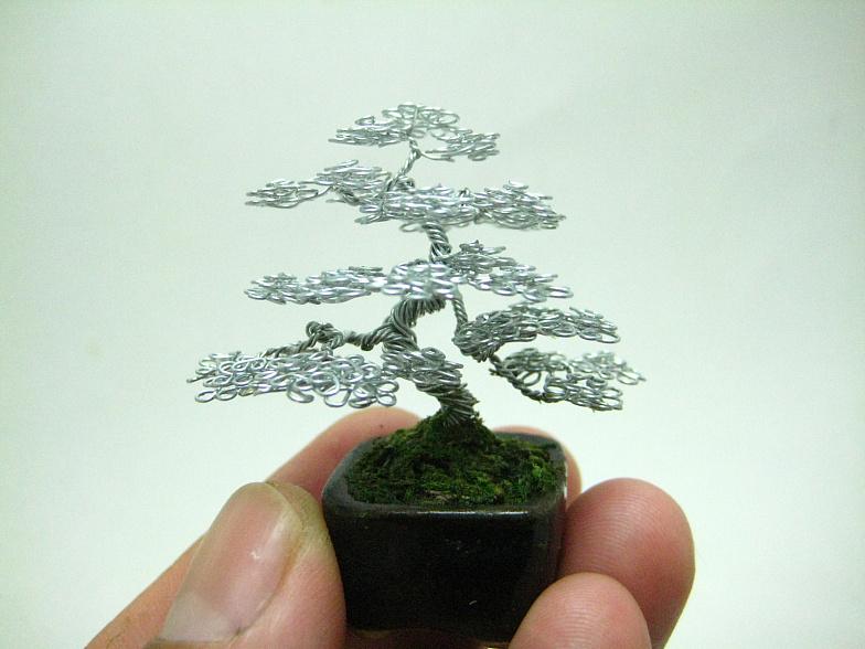 Micro Wire Bonsai tree sculpture by KenToArt on DeviantArt