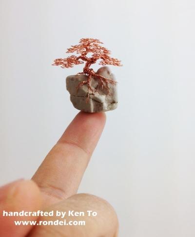Micro Mame Wire Bonsai tree by Ken To by KenToArt