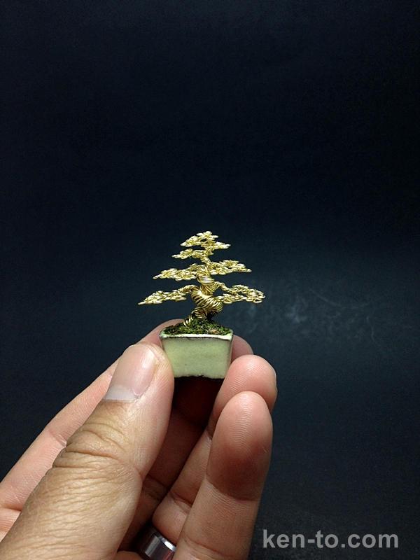 Mini Gold Wire Mame Bonsai Tree By Ken To By Kentoart On Deviantart