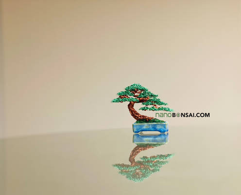 Mame wire bonsai tree by Ken To