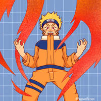 Naruto by blomtart